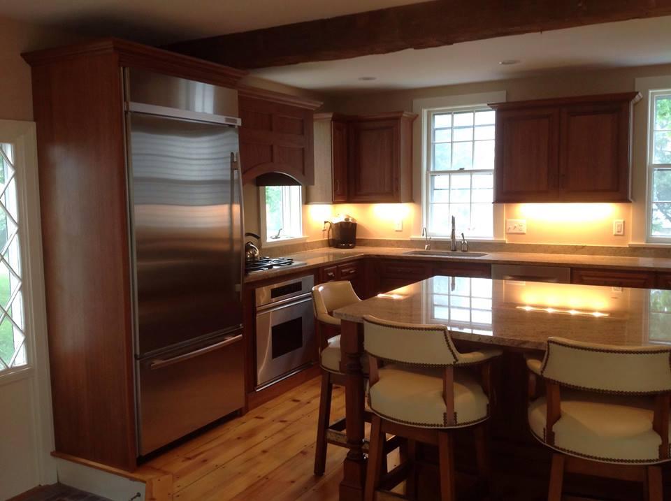Kitchen Remodel. Interior Home Improvement. Dennis, MA